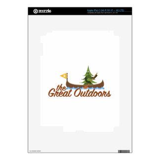 Great Outdoors iPad 3 Pegatinas Skins