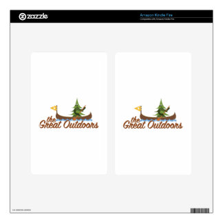 Great Outdoors Kindle Fire Skins