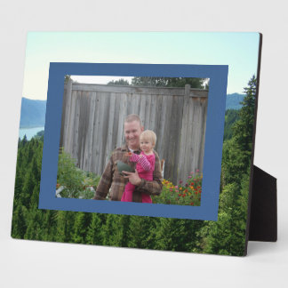Great Outdoors Lake and Forest Frame Plaque