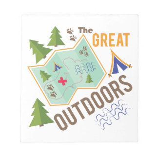Great Outdoors Memo Notepad