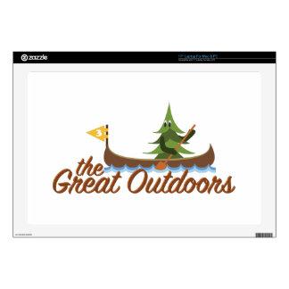 Great Outdoors Skins Para 43,2cm Portátil