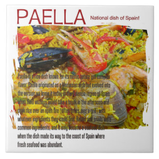 Great Paella Ceramic Tile! Ceramic Tile