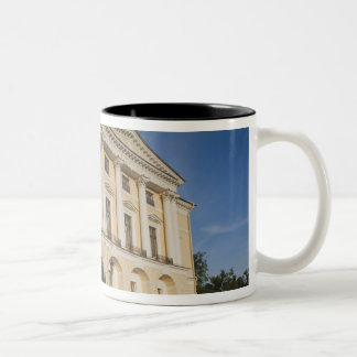 Great Palace of Czar Paul I, exterior 2 Two-Tone Coffee Mug