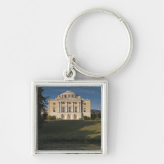 Great Palace of Czar Paul I, exterior Silver-Colored Square Keychain