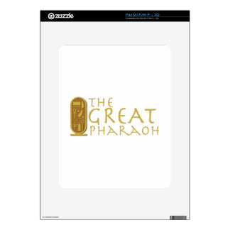 Great Pharaoh Decals For iPad