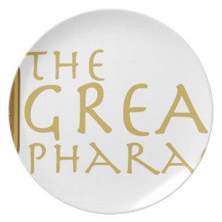 Great Pharaoh Melamine Plate