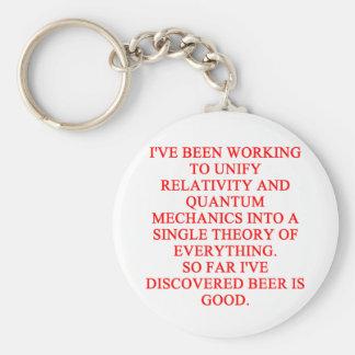 great phisics joke basic round button keychain
