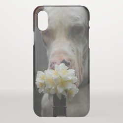 Uncommon iPhone XS Clearly™ Deflector Case with Great Dane Phone Cases design