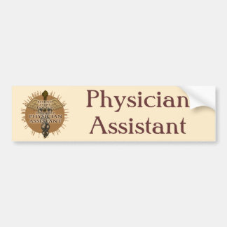 Great Physician Assistant Bumper Sticker