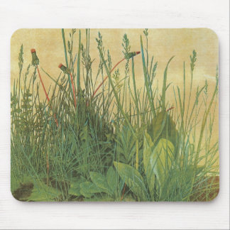 Great Piece of Turf by Albrecht Durer, Vintage Art Mouse Pad