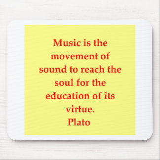 great plato quote mouse pad