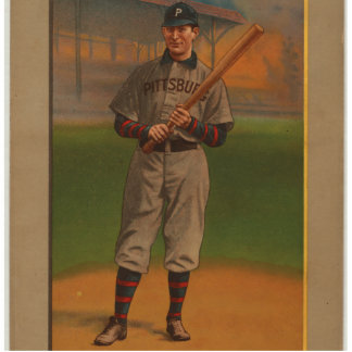 Great Players Of The Golden Era - Clarke Standing Photo Sculpture