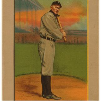 Great Players Of The Golden Era - Cobb Standing Photo Sculpture