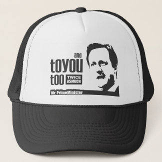 Great PM Cameron Tshirt Trucker Hat
