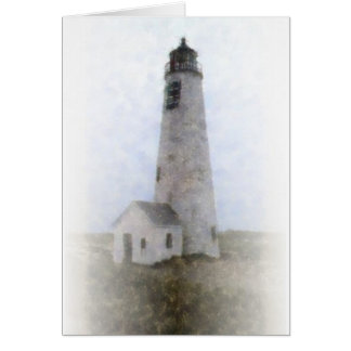 Great Point Light, Nantucket Greeting Card