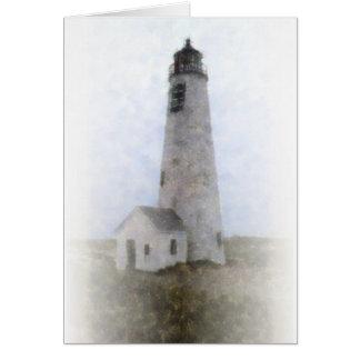 Great Point Light, Nantucket Card