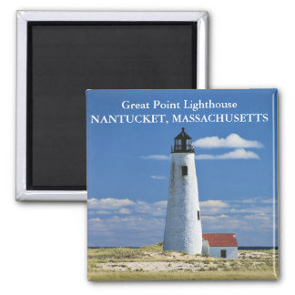 Great Point Lighthouse, Nantucket MA Magnet