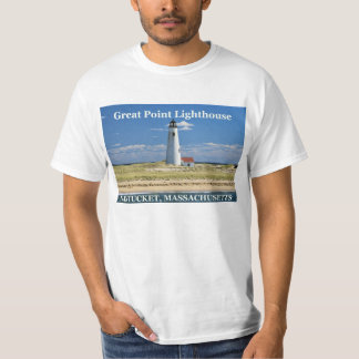 Great Point Lighthouse, Nantucket MA T-Shirt