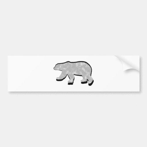 GREAT POLAR BEAR BUMPER STICKERS