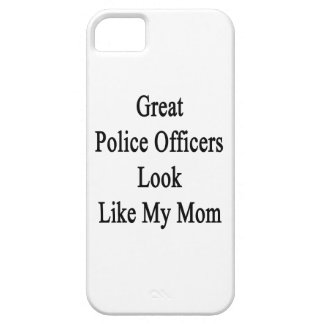 Great Police Officers Look Like My Mom iPhone 5 Case