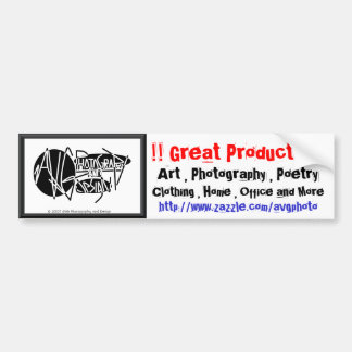 !! Great Products !! Promotional Bumper Sticker