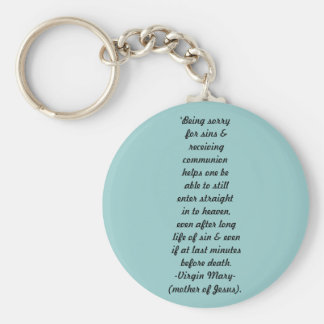Great promise from mary christian keychain