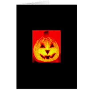 Great Pumpkin Card