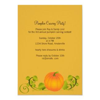 """Great Pumpkin Invitation 5"""" X 7"""" Invitation Card"""