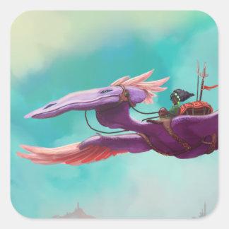 Great Purple Dragon - Sticker Set