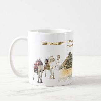 GREAT PYRAMID AT GIZA COFFEE MUG