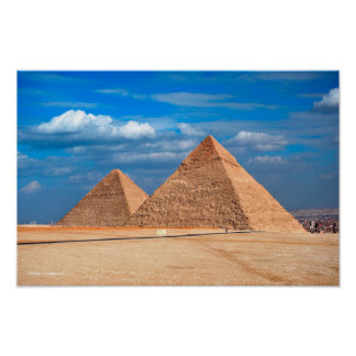 Great Pyramid Khufu & Cheops Posters