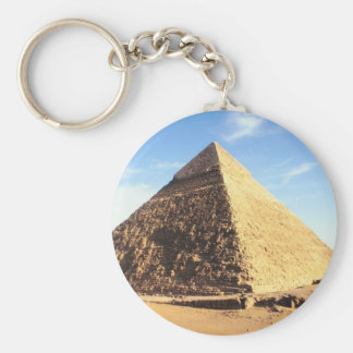 Great Pyramid of Giza Basic Round Button Keychain