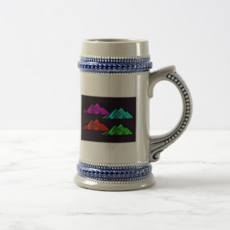 Great Pyramid of Giza Collage Beer Stein