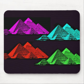 Great Pyramid of Giza Collage Mousepad