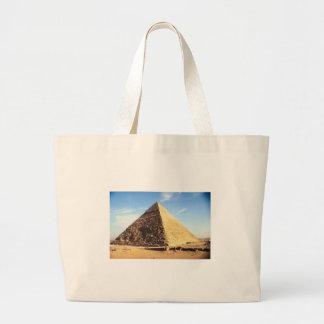 Great Pyramid of Giza Jumbo Tote Bag
