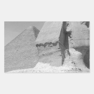 Great Pyramid of Giza Rectangular Sticker