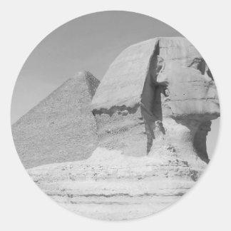 Great Pyramid of Giza Round Sticker