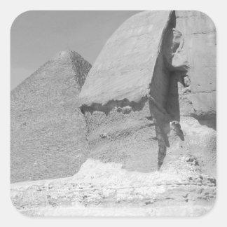 Great Pyramid of Giza Square Sticker
