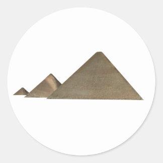 Great Pyramid of Giza: Classic Round Sticker