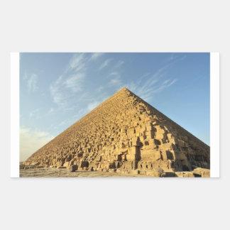 Great Pyramid of Khufu (Cheops), Giza, Egypt Rectangular Sticker