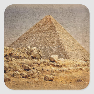 Great Pyramid of Khufu Square Sticker