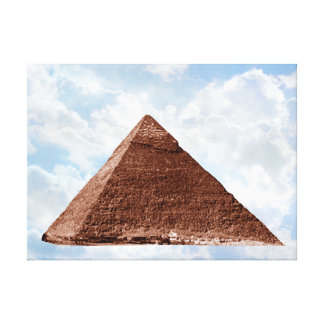Great Pyramid - Wrapped Canvas