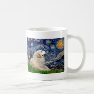 Great Pyrenees 2 - Starry Night Coffee Mug
