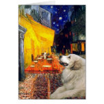 Great Pyrenees 2 - Terrace Cafe Cards