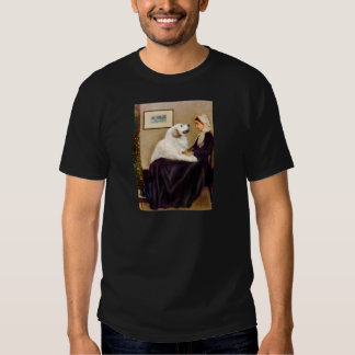 Great Pyrenees 2 - WHistler's Mother T-shirt