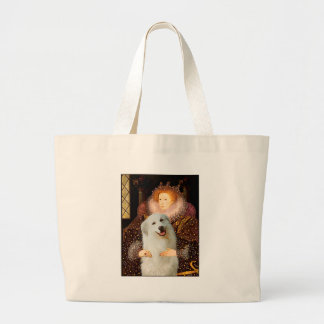 Great Pyrenees 3 - Queen Large Tote Bag