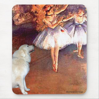 Great Pyrenees 6 - Two Dancers Mouse Pad