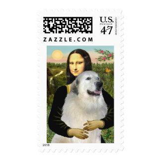 Great Pyrenees 9 - Mona Lisa Postage