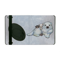 Great Pyrenees and Lambs iPad Case