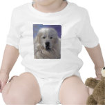 Great Pyrenees Baby Bodysuits